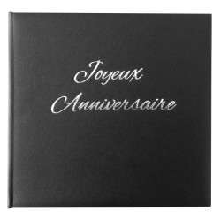 Livre d'or anniversaire - Made in Fance