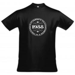 Tee shirt vintage - Fabriqué en 1988 Conforme & Authentique - Homme