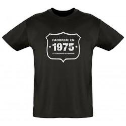 Tee shirt - Fab 1975 - Coton bio - Homme