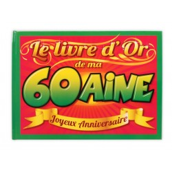 Livre d'or 60 aine