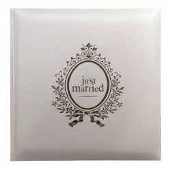 Livre d'or de mariage - Just Married