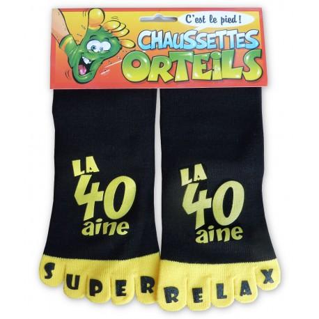 Chaussettes à orteils la 40 aine