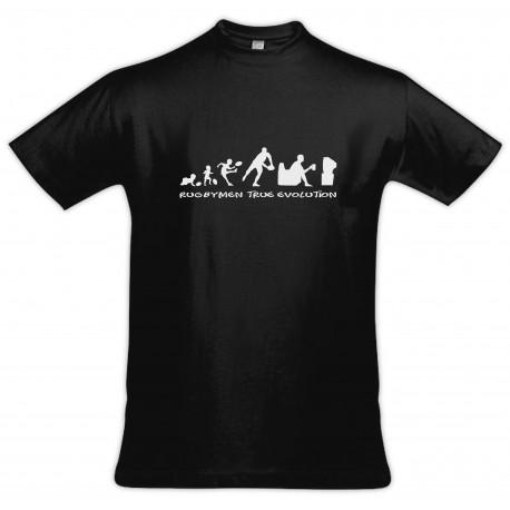 Tee shirt Rugbymen True Evolution