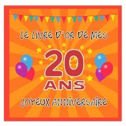 Livre d'or 20 ans - Fabriqué en France