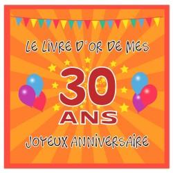 Livre d'or 30 ans - Fabriqué en France