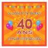 Livre d'or 40 ans - Fabriqué en France