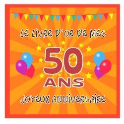 Livre d'or 50 ans - Fabriqué en France