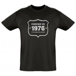 Tee shirt - Fab 1976 - Coton bio - Homme