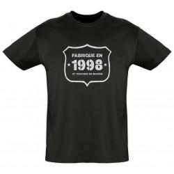 Tee shirt - Fab 1998 - Coton bio - Homme