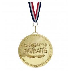 Médaille d'or du Retraité