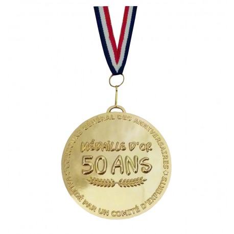 Médaille d'or 50 ans