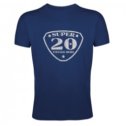Tee shirt Super 20 Vintage Hero