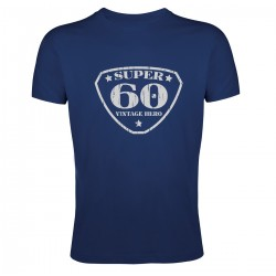 Tee shirt Super 60 Vintage Hero