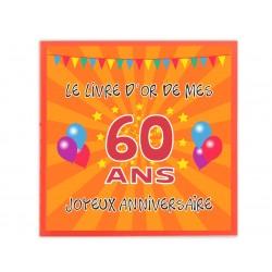 Livre d'or 60 ans - Fabriqué en France