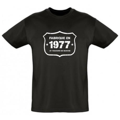 Tee shirt - Fab 1977 - Coton bio - Homme