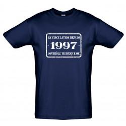 Tee shirt En Circulation depuis 1997