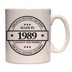 Mug Made in 1989