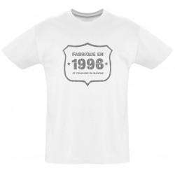 Tee shirt - Fab 1996 - Coton bio - Homme
