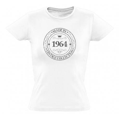 Shirt In Femme Coton Made Tee 1964 Bio j5LqRScA34