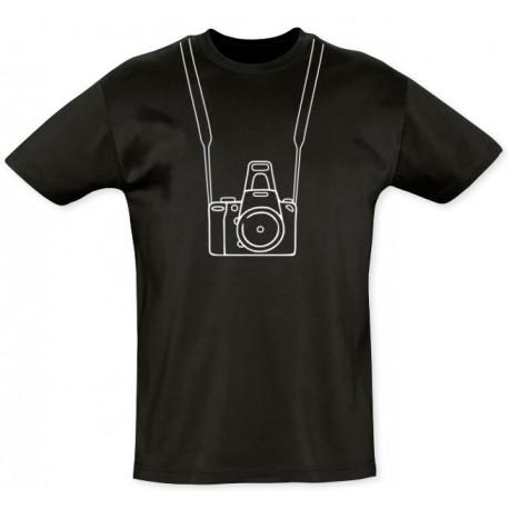 Tee shirt photographe - coton bio