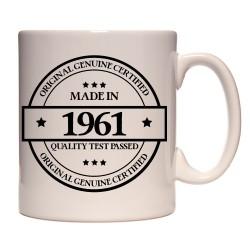 Mug Made in 1961