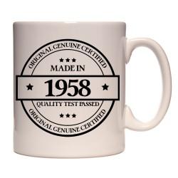 Mug Made in 1958