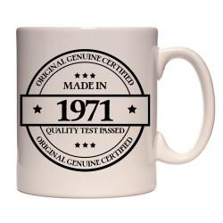 Mug Made in 1971