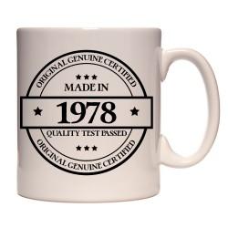 Mug Made in 1978