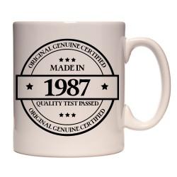 Mug Made in 1987