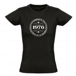 Tee shirt vintage - Fabriqué en 1976 Conforme & Authentique - Femme